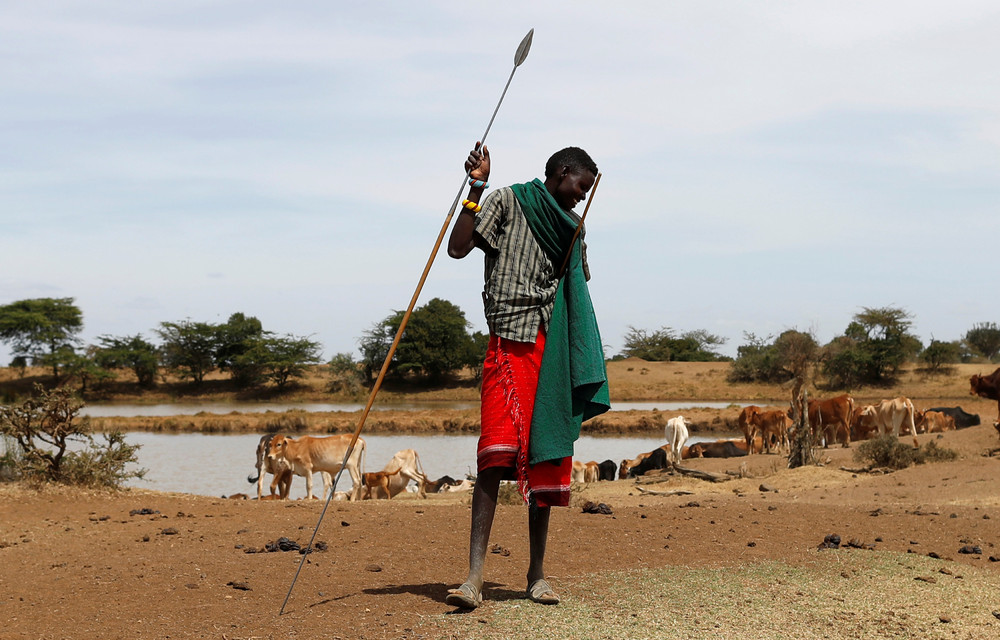 Засуха в Кении