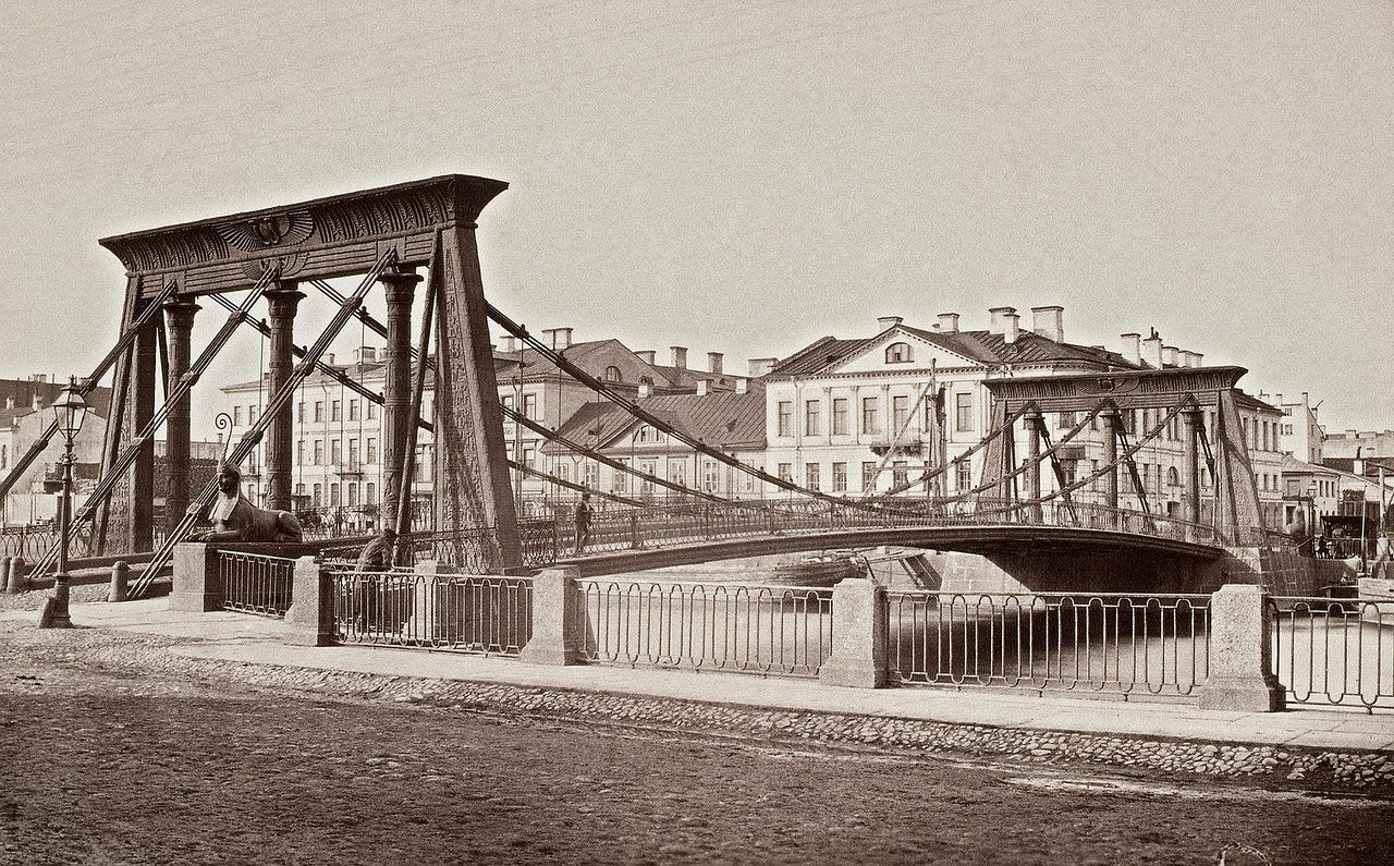 египетский мост, питер