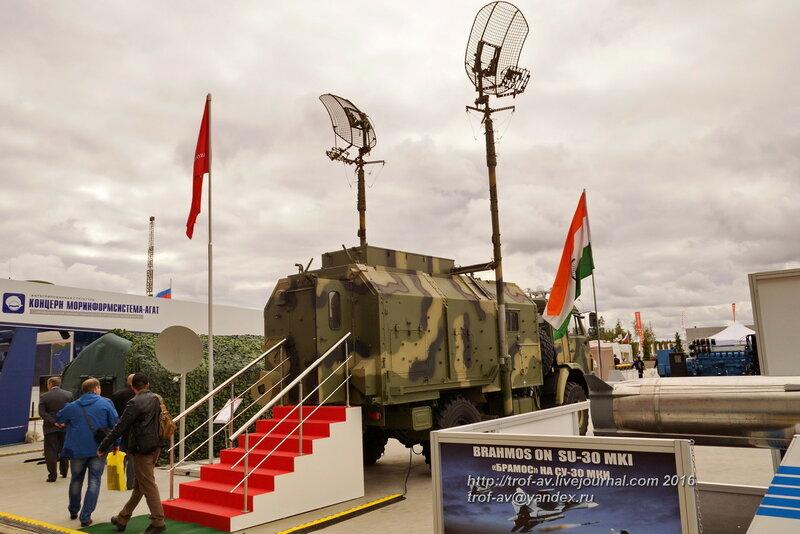 Подвижная цифровая радиорелейная станция Р-419Л1. Форум Армия-2016, парк Патриот