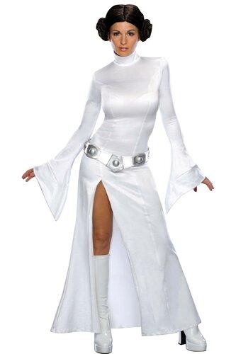 Женский карнавальный костюм Лея