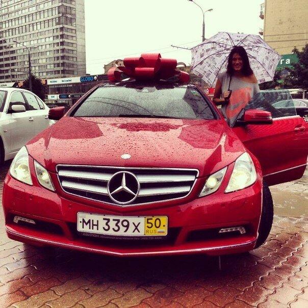Машина подарок девушке