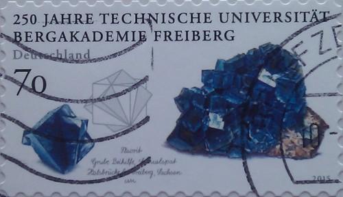 2015 250лет горн академии фрайберга синие камни 70