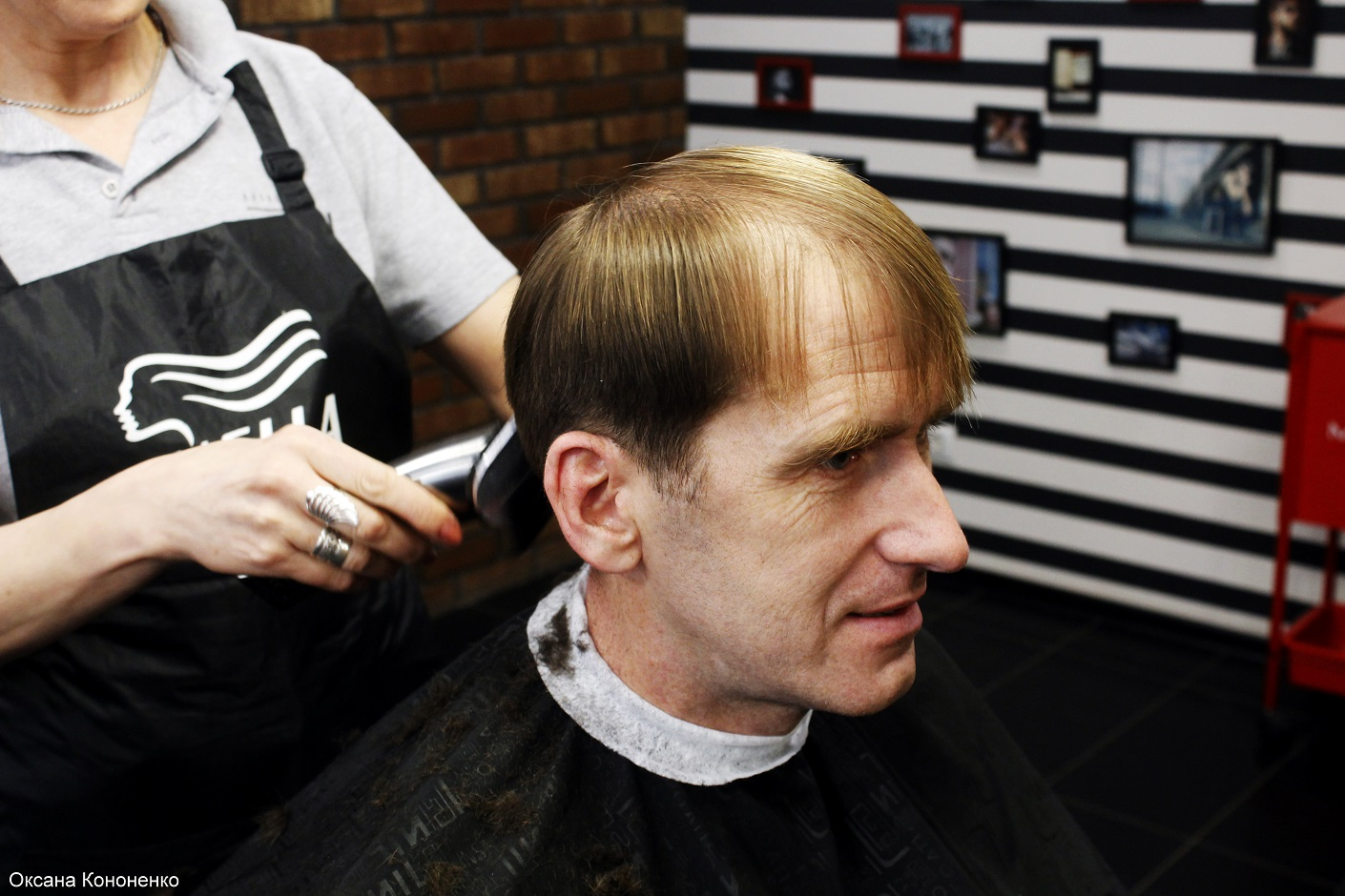 Как меня подстригали в HandMade