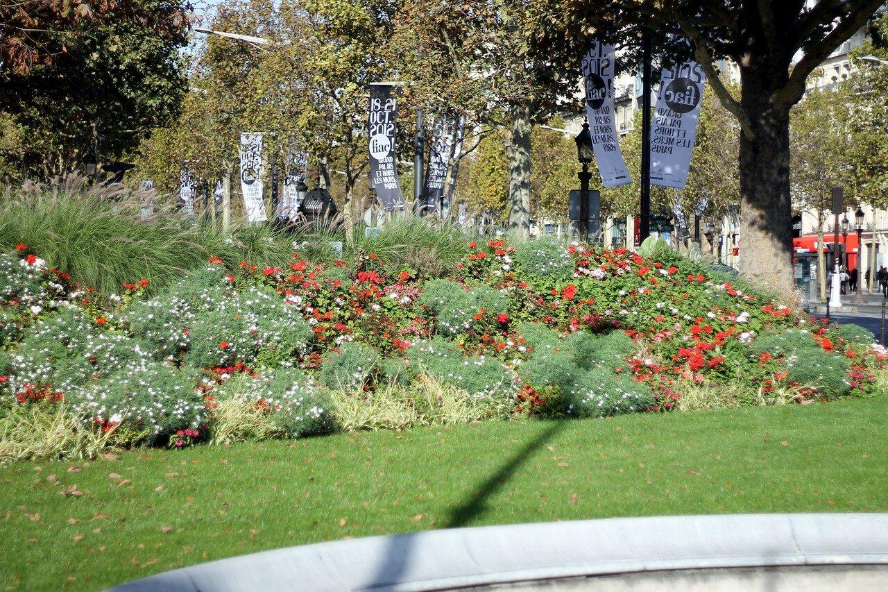 Париж. Площадь Клемансо (Place Clemenceau)