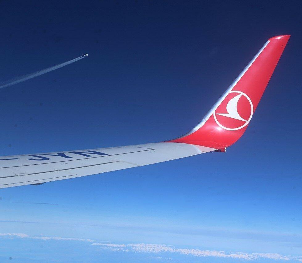 Перелет Стамбул-Мадрид. Встречным курсом