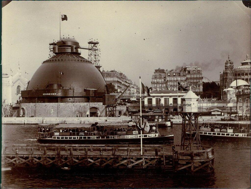 1900. Всемирная выставка в Париже. Павильон Крёзо.