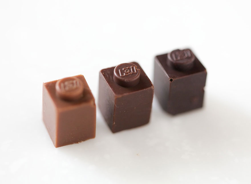 Съедобные кирпичики LEGO Акихира Мидзути