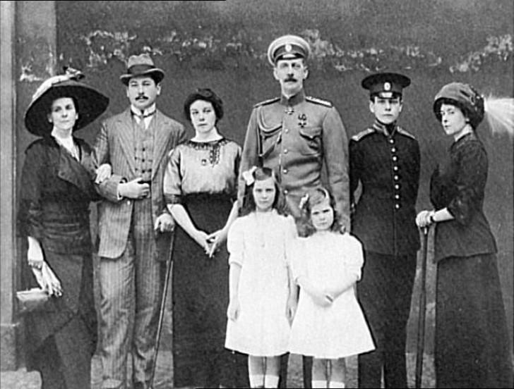 Семья Натали Палей.