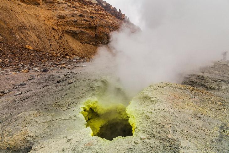 Фотографии и текст Антона Петруся   1. Мутновский вулкан находится относительно недалеко от