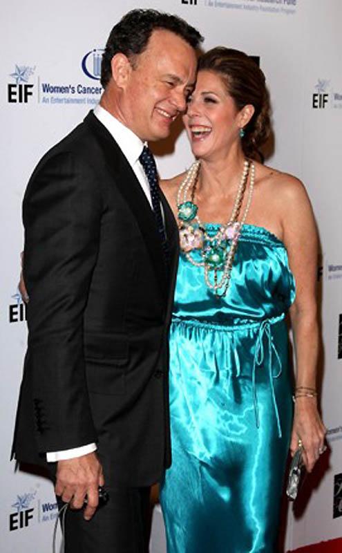 Том Хэнкс и Рита Уилсон. (Jason Merritt / Getty Images) Впервые Рита Уилсон встретила своего будущег