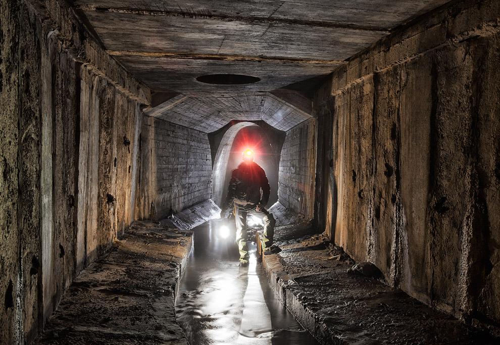 5. Здесь тоннель в аварийном (почти) состоянии.