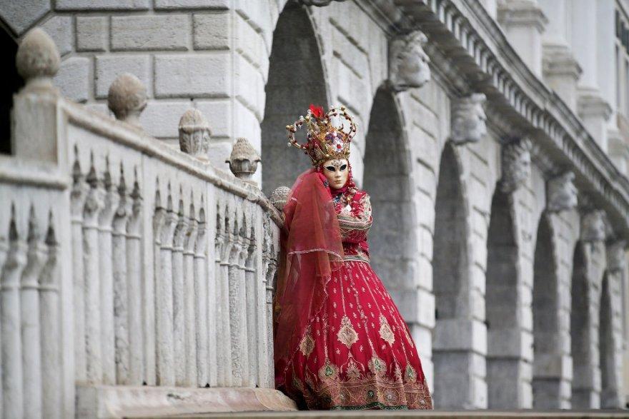 8. Венецианский карнавал открывается старейшим венецианским праздником — Festa delle Marie, который