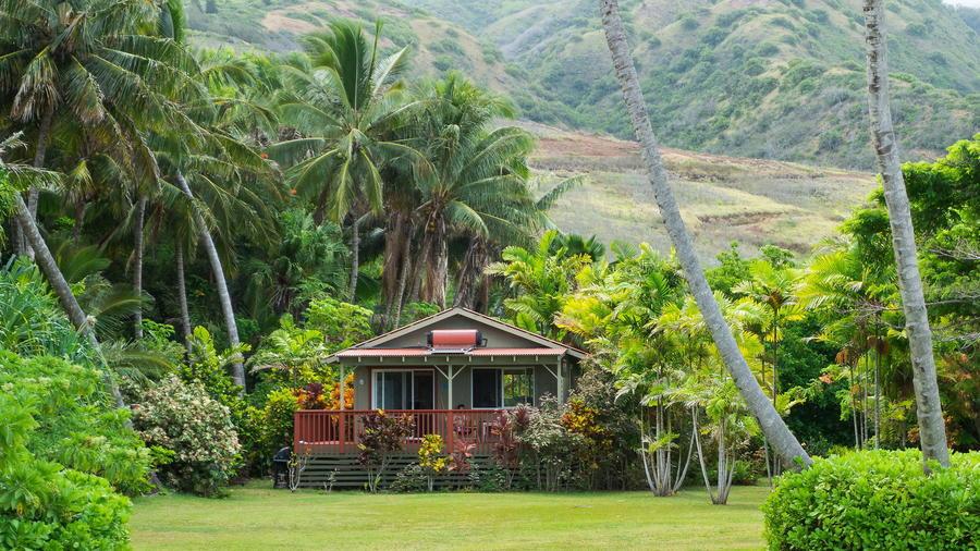 13. Чудный домик на острове Молокаи, Гавайи.