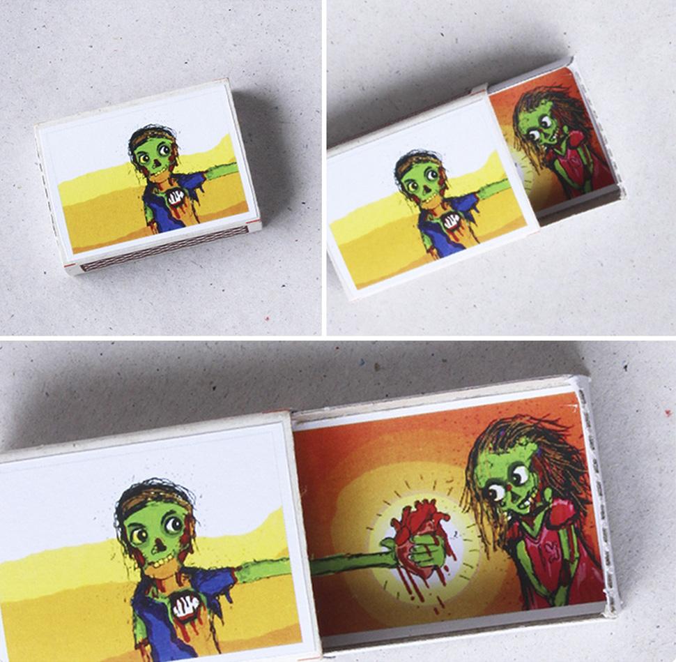 Открой и узнаешь: спичечные коробки с сюрпризом (12 фото)