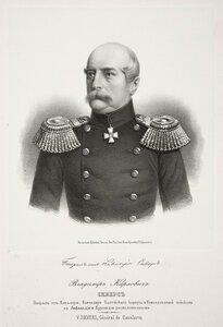 Владимир Карлович Сиверс, генерал от кавалерии, командир Балтийского корпуса