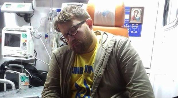 ВХарькове избили известного активиста Валентина Быстриченко