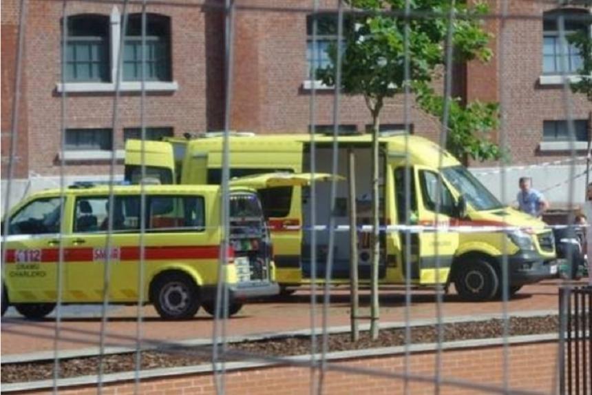 ВБельгии милиция задержала еще одного человека смачете