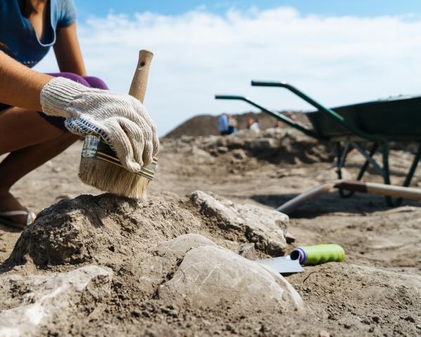 ВМостовском районе археологи обнаружили захоронение 2-х детей