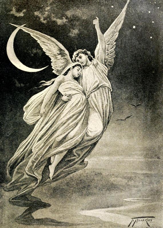 Художник В.А.Поляков. Ангел