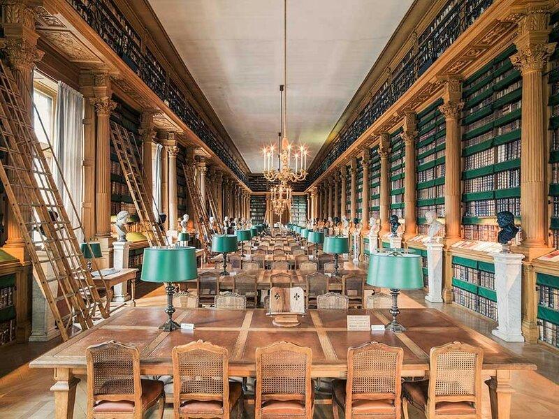 Библиотека Мазарини, Париж, Франция.