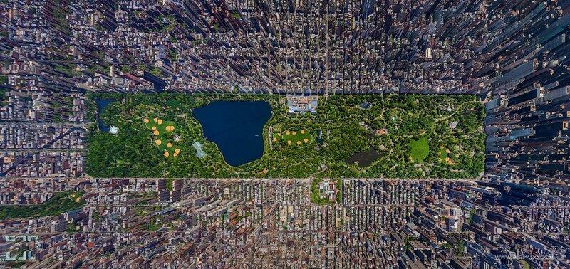 Центральный парк, Нью Йорк, США