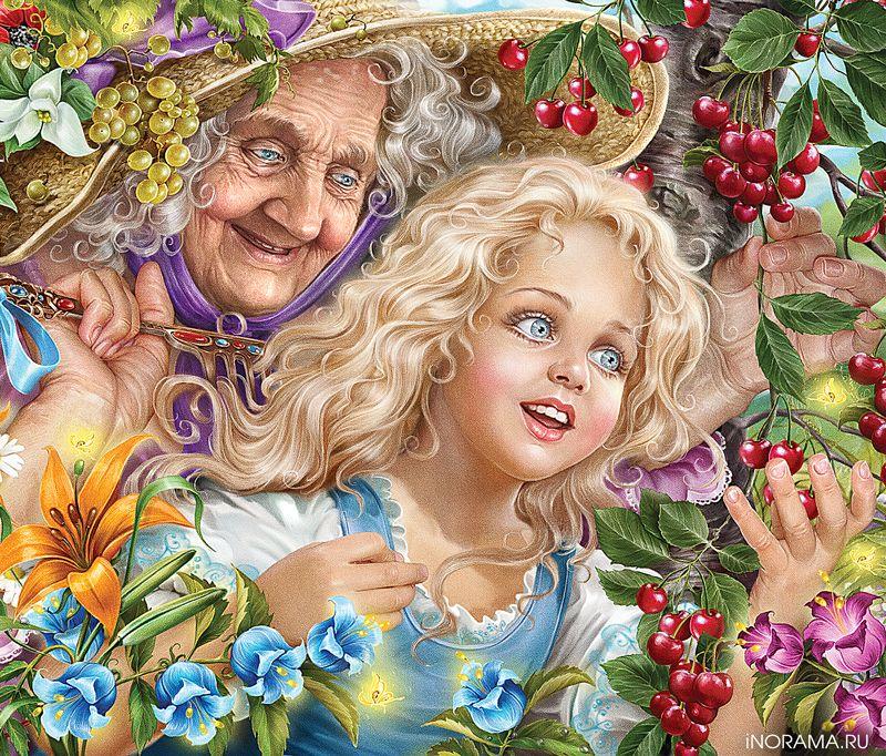 питание: красивые иллюстрации к сказкам инна кузубова этой