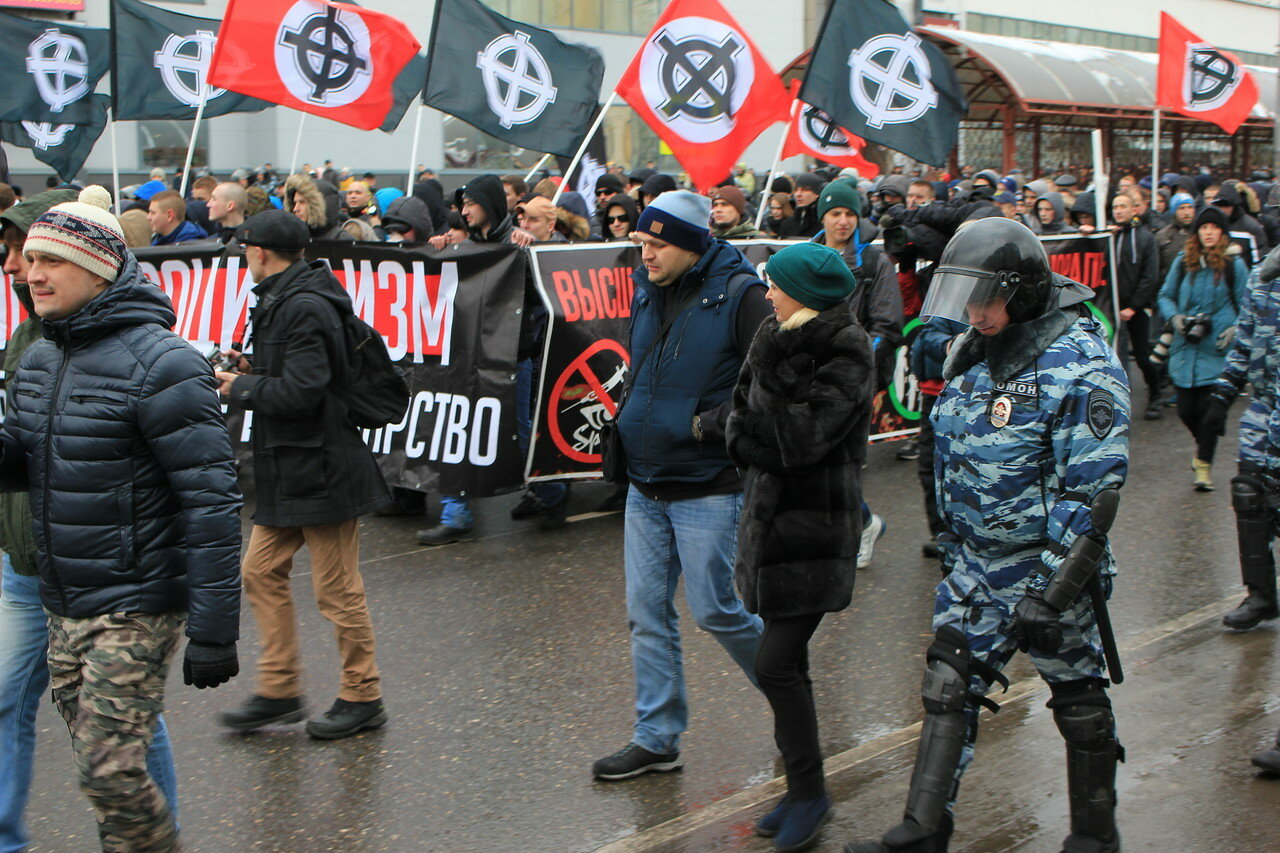 Антипутинский «Русский марш»