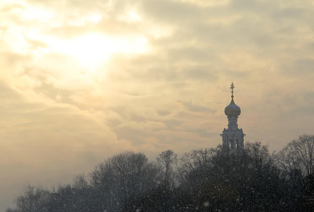 Зима в Троице-Лыково