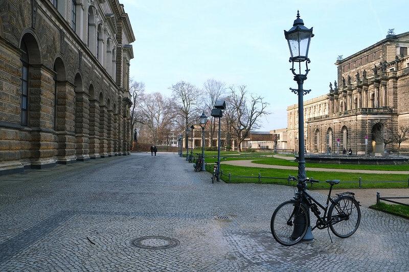 Дрезден. Старый город