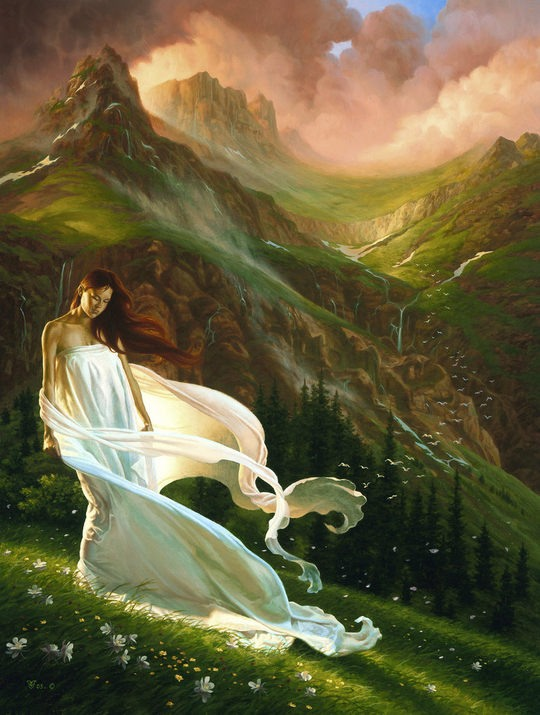 Breathtaking Paintings by Christophe Vacher