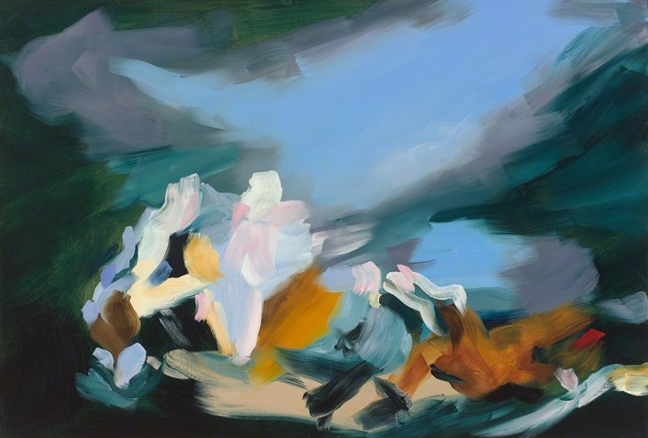 Gestural abstractions by Elise Ansel