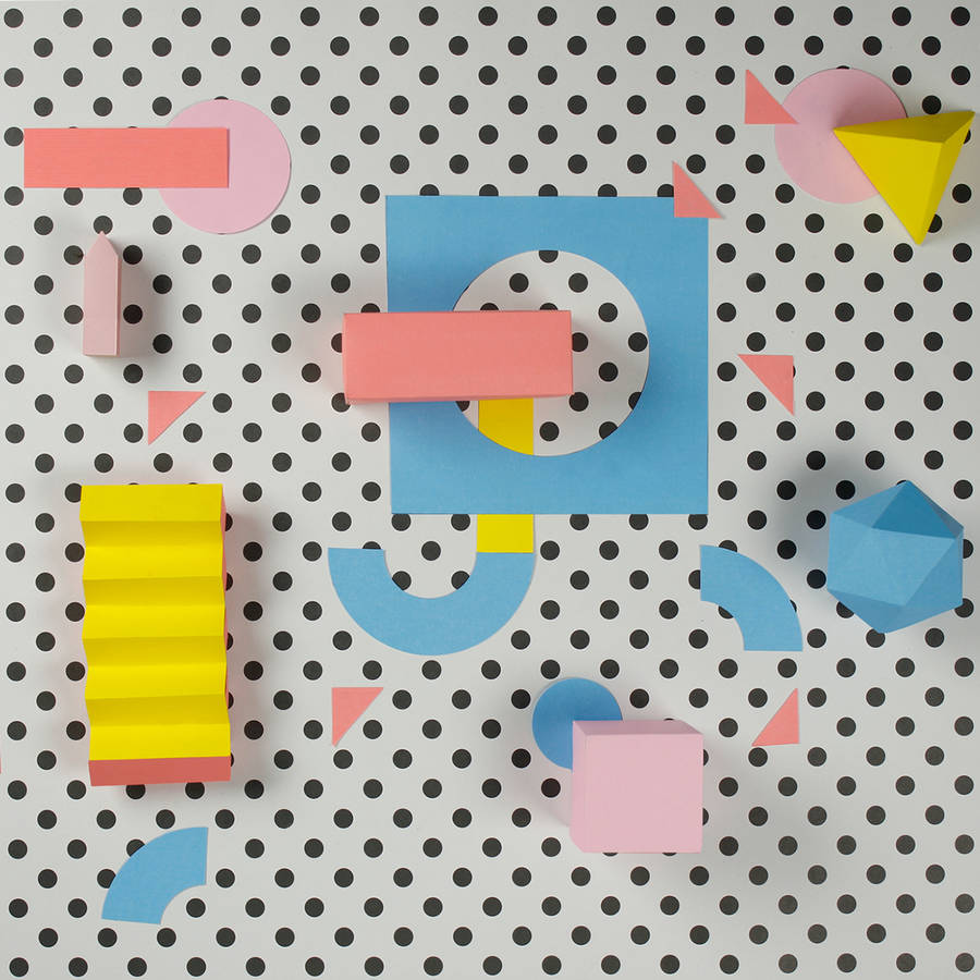 Colorful Paper Craft Alphabet