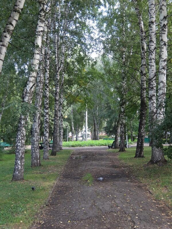 Кемерово - Сквер имени Федорова