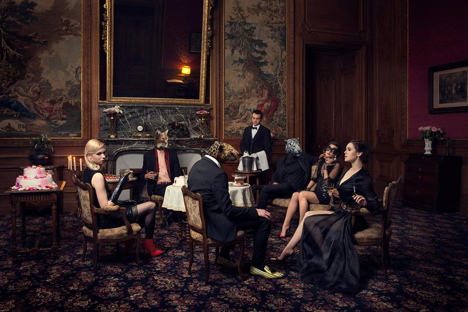 La soiree 1 - Une vie de chateau / A golden youth / photo by Malo
