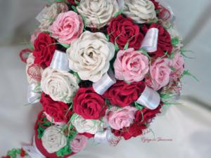 топиарий, топиарий из бумажных роз, подборка работ, рукоделки василисы