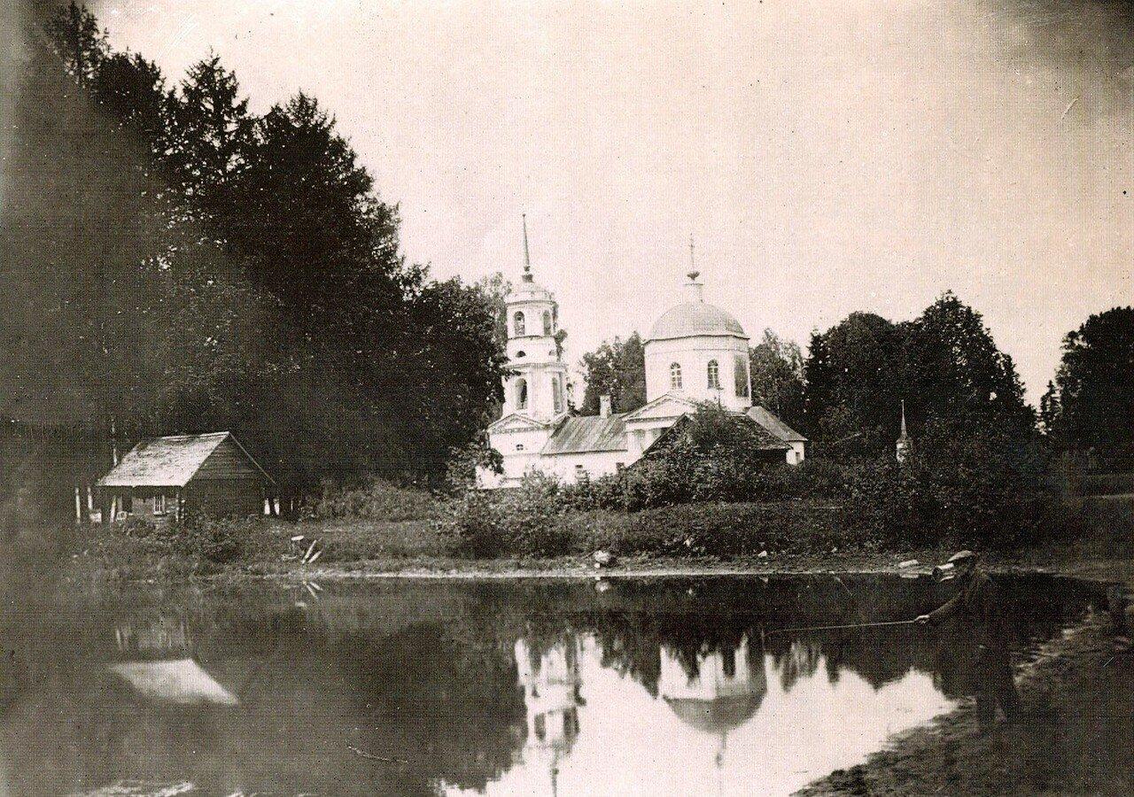 1927. Село Новоспасское. Спасский Храм