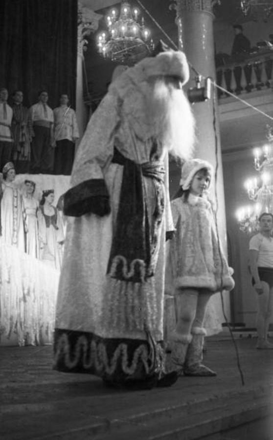 1947. Новогодняя елка в Колонном зале Дома Союзов