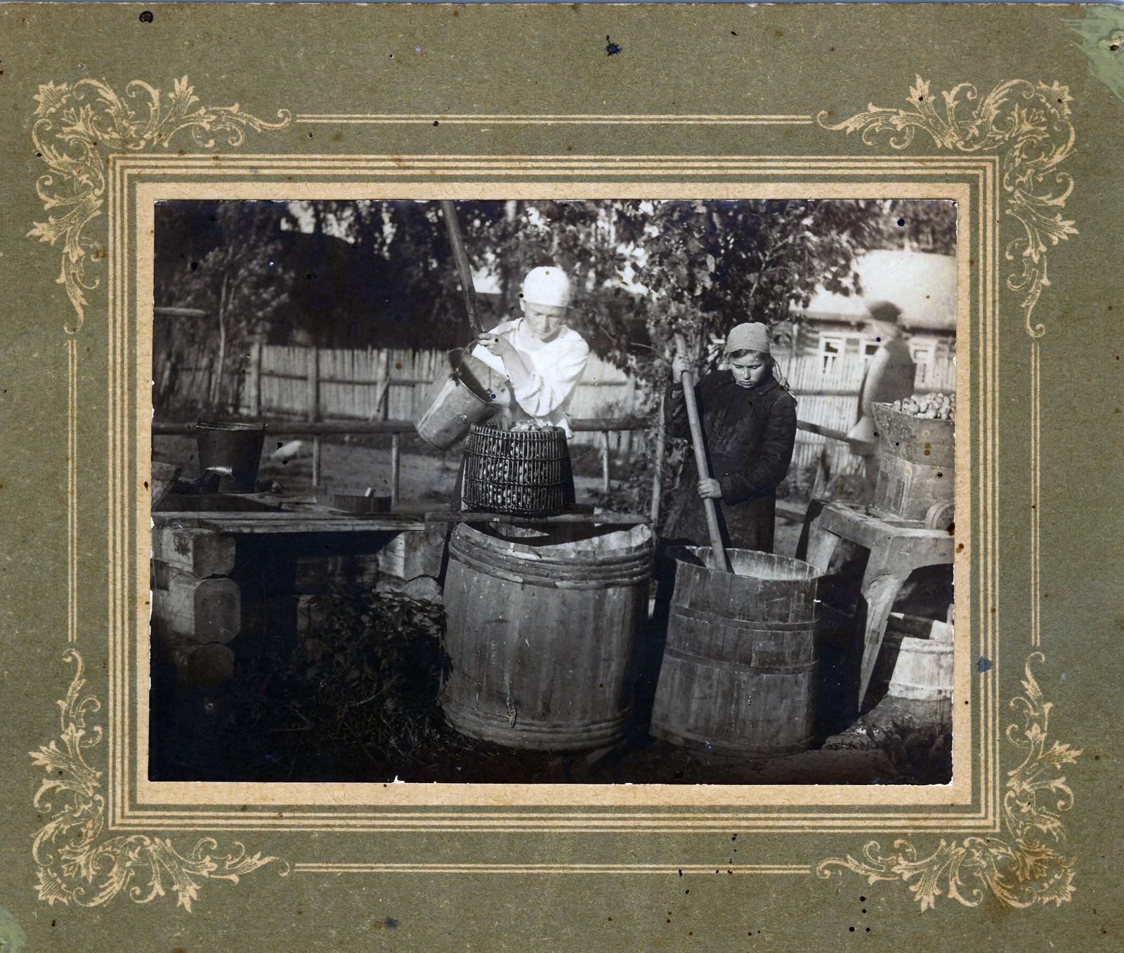 04. Промывка картофельной мязги