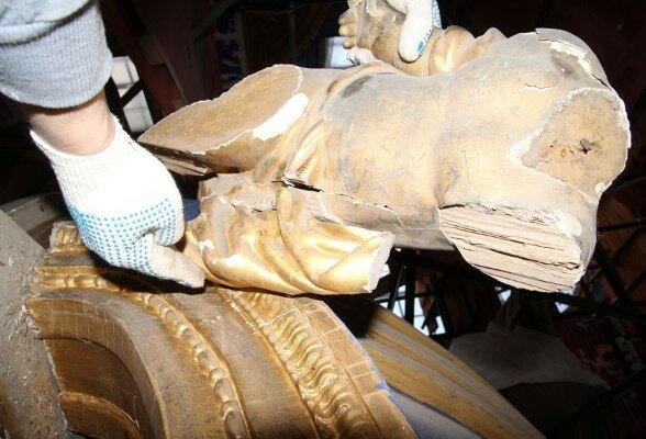 В Екатерининском дворце нашли клад...