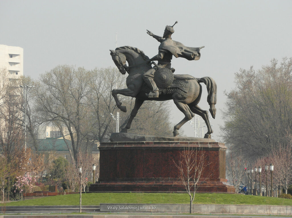 Памятник Амиру Темуру, Ташкент