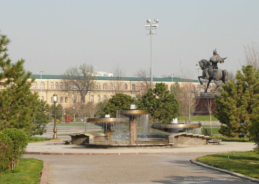 Сквер Амира Темура, Ташкент