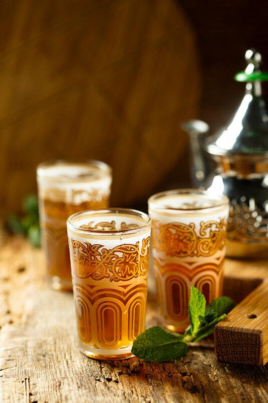 Короткой строкой: марокканский чай с мятой.