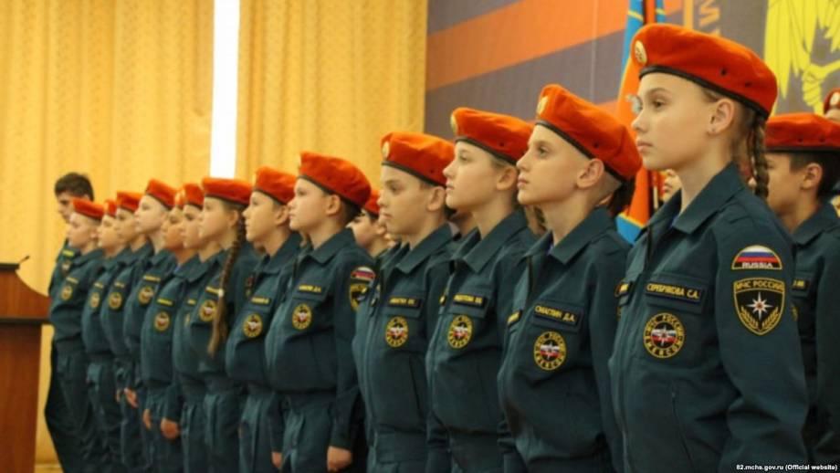 Пропаганда для самых маленьких: милитаризация крымских детей по-русски