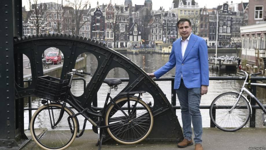 Саакашвили назвал работу, которую нашел себе в Нидерландах