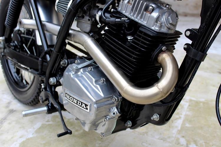 L'établi Garage: городской трекер Honda NX125 Transcity