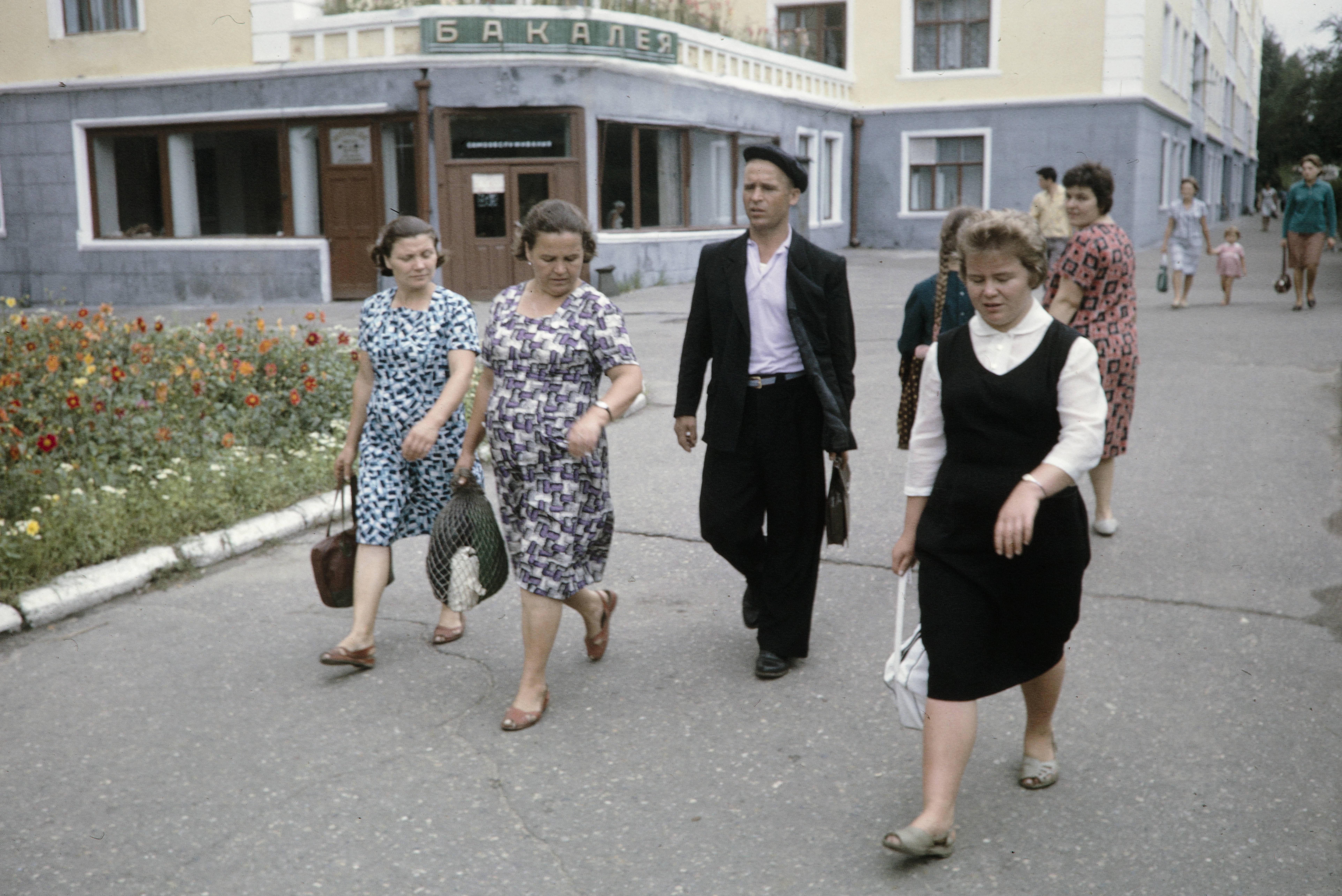Угол улиц К.Маркса и Л,Толстого