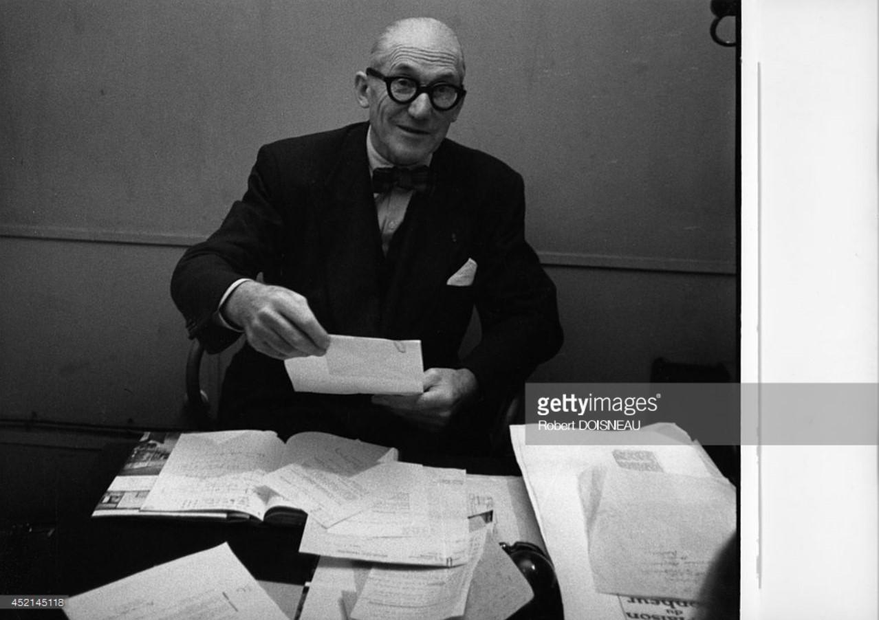 1953. Портрет Ле Корбюзье 2о октября