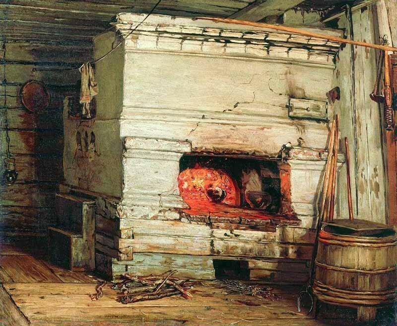 «Крестьянская изба»<br /> 1869