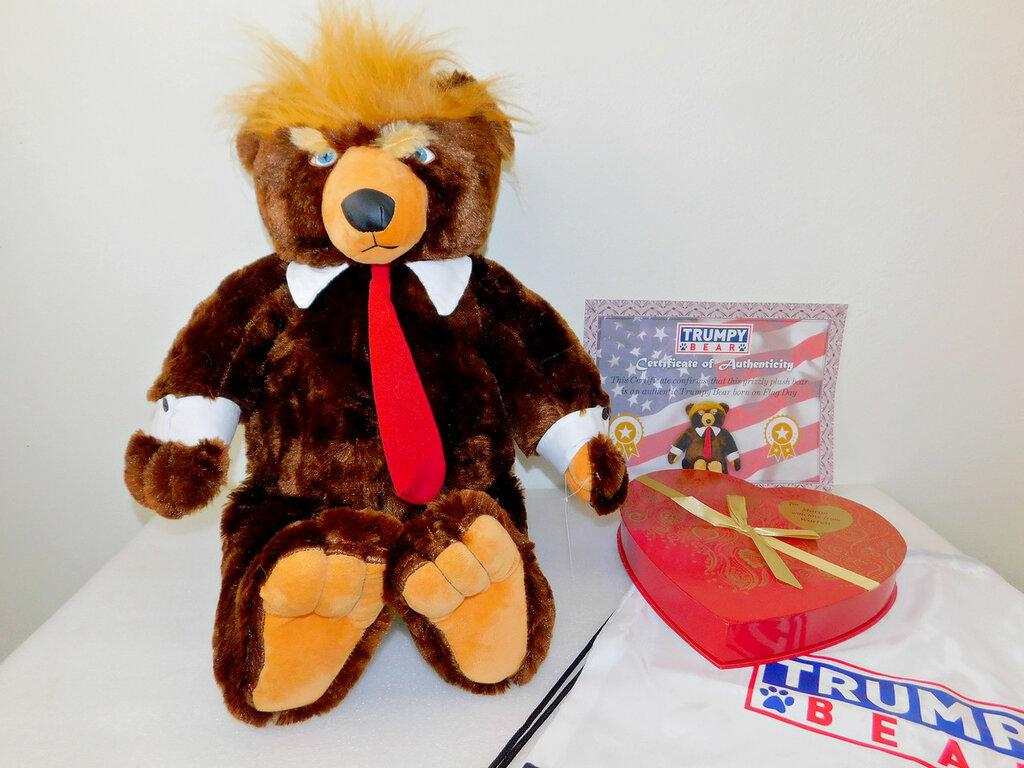 Титан и Медвежонок Trumpy