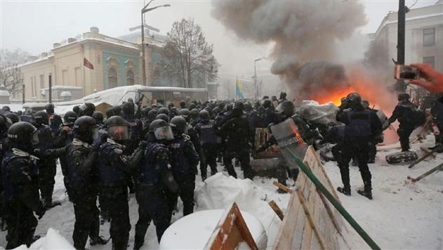 В полиции рассказали детали штурма палаточного городка под Радой